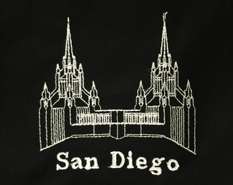 Embroidered San Diego Temple