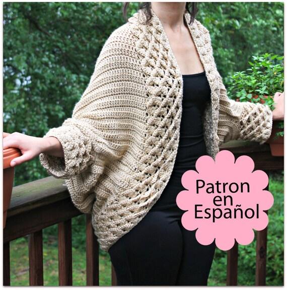 Chaqueta Crochet Metalizada Kingdom - Chaquetas A Crochet | www.lesh ...