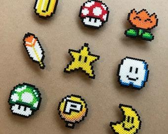 Super Mario Power-Ups Magnet Set (9 pcs.)