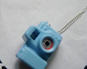 Pendant blue camera ♥ ♥
