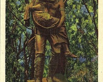 Minneapolis, Minnesota, Hiawatha, Minnehaha Statue, Minnehaha Park - Vintage Postcard - Postcard - Unused (J)