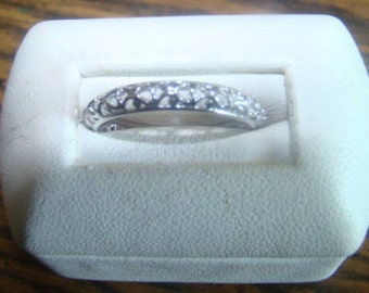 LAST CHANCE SALE Lovely Vintage Sterling Silver Ring