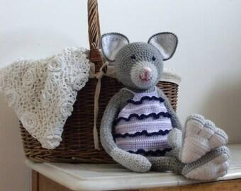 Crochet Plush Cat Marin