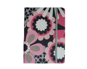 Kindle Case Kindle Paperwhite Case Paperwhite Cover Kobo Aura H20 Kobo Aura One Kobo Aura 2 Kobo Glo HD Kobo Touch 2.0 Pink Gray Flowers