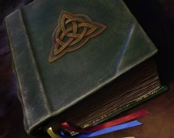 Fully Printed Charmed Inspired Book of Shadows Replica 500 Aged Pages FREE U.S. SHIPPING