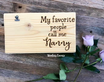 Aunt gift, Personalized picture frame, Gift for Grandma, Custom picture frame, Wood picture frame, Wood picture holder, Mothers day gift
