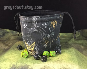 Necronomicon Dice Bag