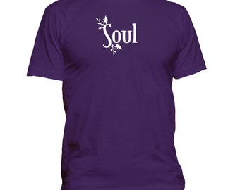 Soul. His and Hers T-shirt. Premium quality. Ringspun soft.
