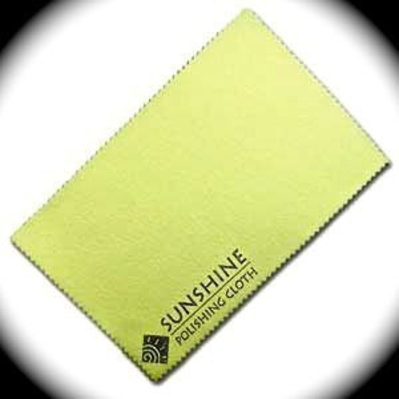 3 - Sunshine Polishing Cloth - QTY 3