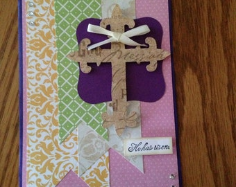 Easter handmade greeting Card with envelope