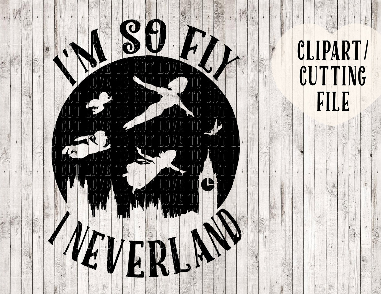 I M So Fly I Neverland Svg Peter Pan Svg Tinkerbell Svg # Fly Meubles Audio Bois