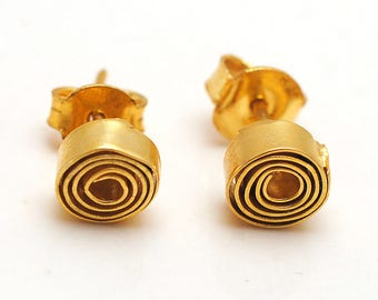 Rose Bud Earring
