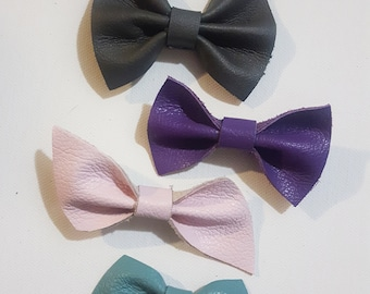 Leather Bow Set // SEE ALL PICTURES