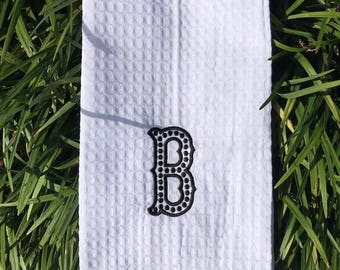 Monogrammed Dish Towel, Hand Towel, Wedding Gift, Hostess Gift, Personalized Gift