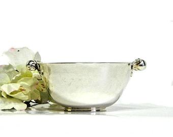 Wilcox Silverplate Silver Apple Sugar Bowl