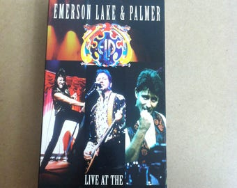 Emerson Lake & Palmer VHS Welcome Back Live At The Royal Albert Hall
