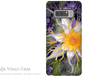 Lotus Galaxy Note 8 Case - Purple and Green Floral Case for Samsung Galaxy Note 8 with Art - Bali Dream Flower - Dual Layer Case