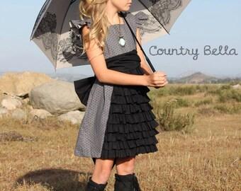 Tween's Ruffled Whimsy Dress Girls sizes 8-16