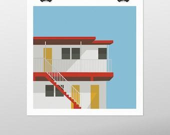 Holiday House prints - printable poster -