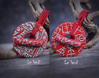 Viking compass dread tie dreadlocks hair tie viking hair tie dread holder for dreads hair tie Dreadlock hair Accessories Loc Tie