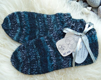 winter socks , warm socks , handmade socks , hand knitted socks , wool socks , boot socks , gray blue socks