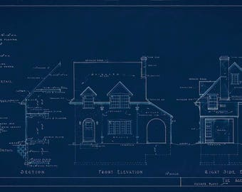 Vintage House Plans - 'The Agerton'