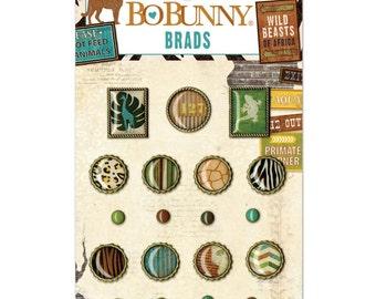 Bo Bunny~Safari Brads