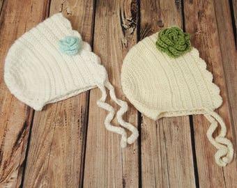 Crochet Baby Bonnet