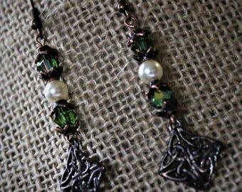 Celtic Dangle Earrings