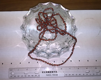 """Necklace - Woven Seed Bead - 32"""""""