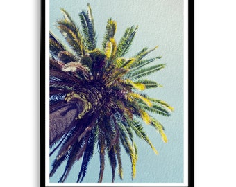 Palm Tree Print, Palm Printable, Palm Digital Print, Palm Poster, Tropical Wall Art, Palm Art Print, Beach Decor, Palm Wall Decor, Palm,Gift