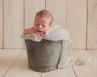 Newborn cheesecloth wrap | Perfect for newborn photography layer, swaddle or wrap around baby