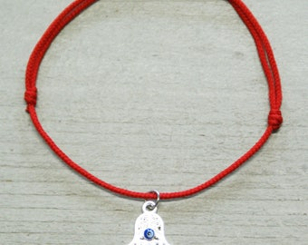 Hand Of Fatima Fatima Hand Fatimas Hand Eye Fatima Hand Bracelet Hamsa Fatima Protection Hamsa Hand Kaballah Red String Bracelet Red Thread