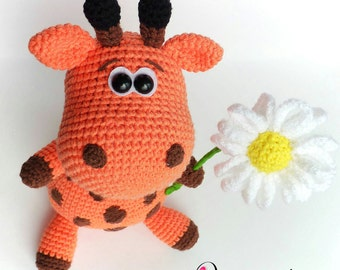 "PATTERN ""Giraffe"" (Crochet amigurumi)"