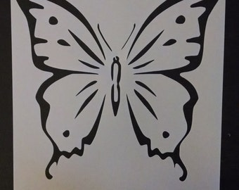 Large Butterfly Custom Stencil FAST FREE SHIPPING