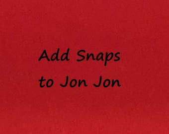 Add Snaps to Jon Jon