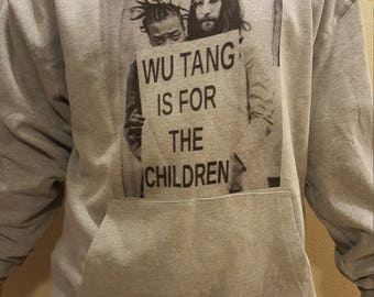 Wu-Tang is for the children John Lennon Hoodie