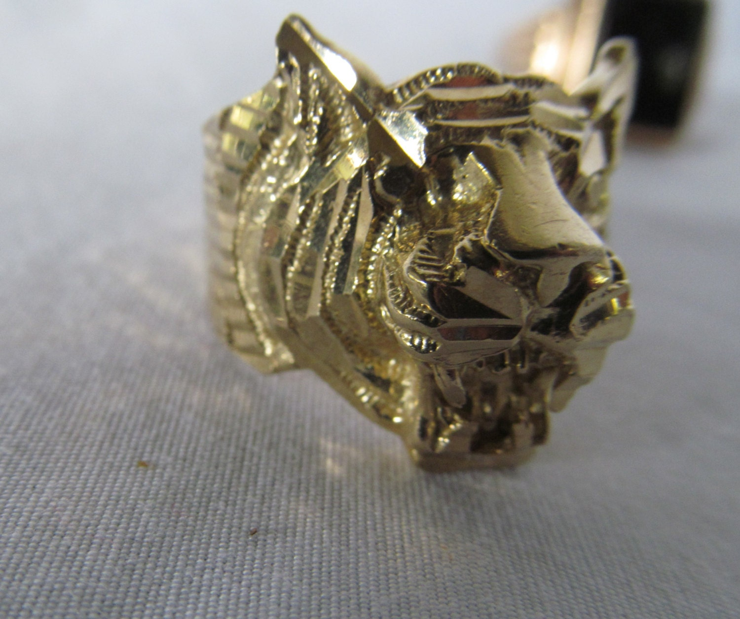 with crystals ring gucci head women lion and pin rings