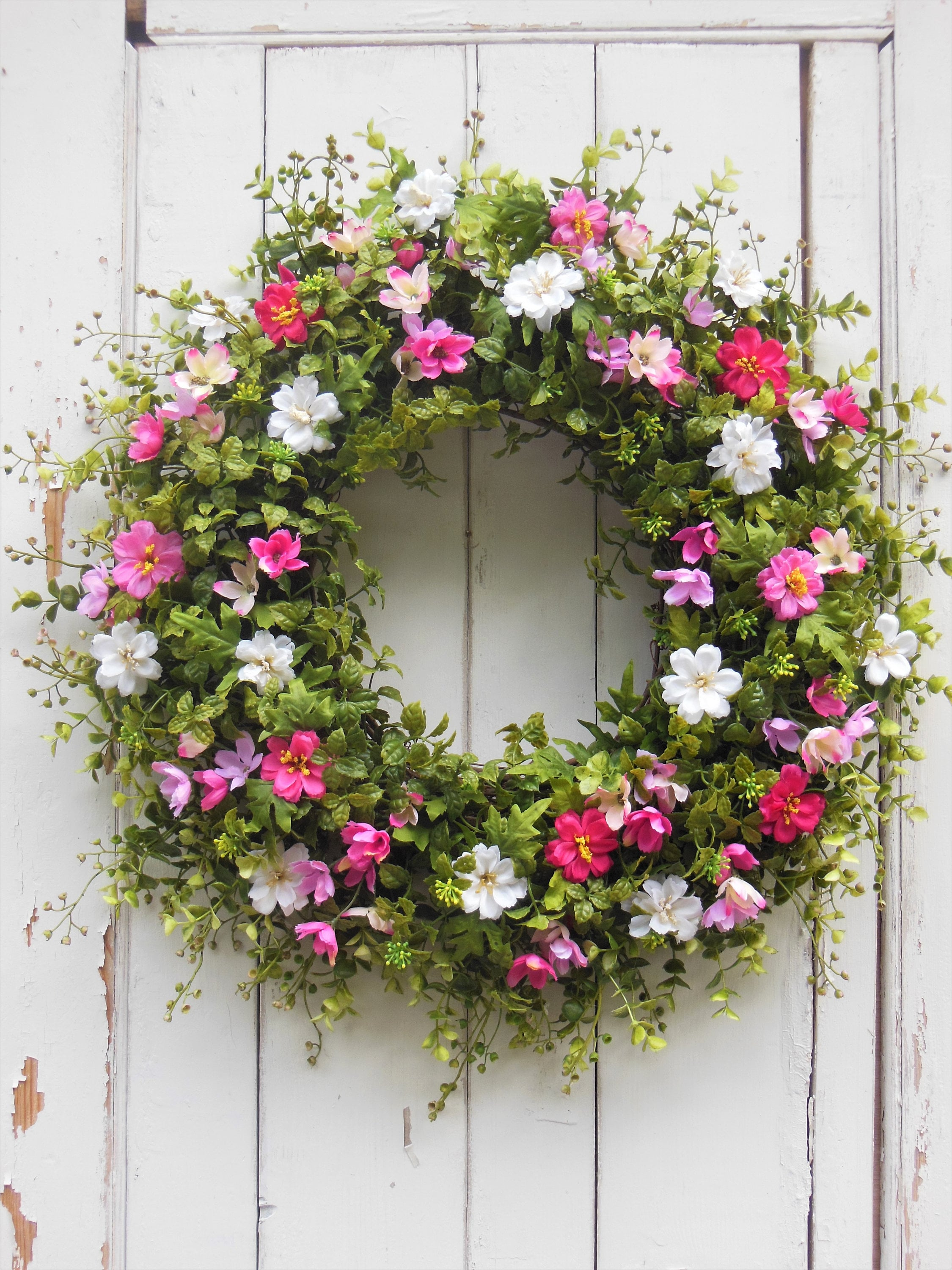 a doors lobby outdoor size door to full how ideas wreath michaels spring wreaths summer fall large for christmas hobby make diy front of cheap