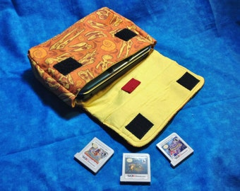 Dinosaur Skulls 3DS / 3DS XL / New 3DS Carrying Case - MADE to ORDER
