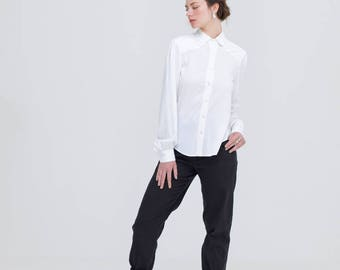 White Bamboo Shirt