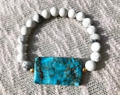 Blue Magnesite and Howlit...