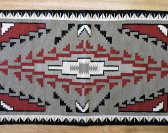Reduced Price Vintage Navajo Indian Klagetoh Style Rug