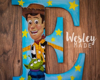 Painted Letter for Nursery or Bedroom local pick up