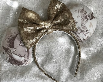 Inspired Bambi Minnie / Mickey Mouse Ears