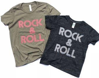 Rock & Roll toddler tee
