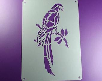 Template Bird Parrot Ara-BE68