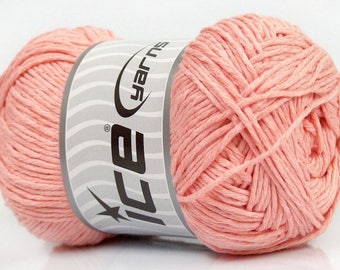 Ice Yarns - Natural Cotton - Light salmon - 100% Cotton - 100grams