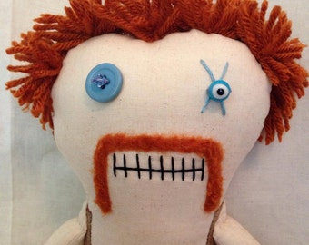 Abraham - Inspired by TWD - Creepy n Cute Zombie Doll (P)