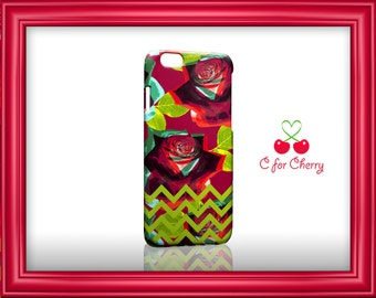 flower dance chevron red 3D Wrapped Phonecase iPhone X 8 plus 7 plus 6s Plus 5s 5c Samsung note S7 S8 S9 plus HTC LG v10 v20 Sony cases